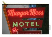 Route 66 - Munger Moss Motel Carry-all Pouch
