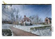 Snow Around Billy Graham Library After Winter Storm Carry-all Pouch