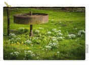 Snowdrop Woods Carry-all Pouch
