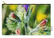 Spring Wild Flower Carry-all Pouch