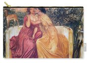 Sappho And Erinna In A Garden Carry-all Pouch
