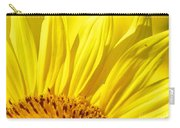 #923 D718 You Are My Sunshine. Sunflower On Colby Farm Carry-all Pouch