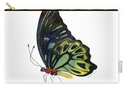 97 Perched Kuranda Butterfly Carry-all Pouch by Amy Kirkpatrick