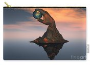 A 3d Conceptual Image Of The World Carry-all Pouch