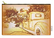 A And W Drive In Carry-all Pouch by Bobbee Rickard
