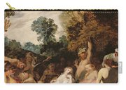 A Bacchanalian Feast, C.1617 Carry-all Pouch