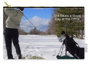 A Bad Day On The Golf Course Carry-all Pouch