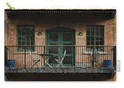A Balcony On The River Aire Carry-all Pouch