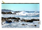 Seascape And Sea Gulls Carry-all Pouch