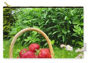 A Basket Of Strawberries Carry-all Pouch