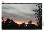 A Beautiful Evening Sky Carry-all Pouch