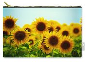 A Beautiful Sunflower Field Carry-all Pouch
