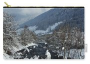A Beautiful Winterday - Austrian Alps Carry-all Pouch