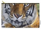 A Bengal Tiger Portrait Endangered Species Wildlife Rescue Carry-all Pouch