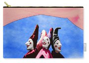A Bevy Of Jesters Carry-all Pouch