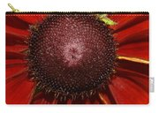 A Big Orange And Yellow Flower Carry-all Pouch