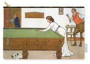 A Billiards Match Carry-all Pouch