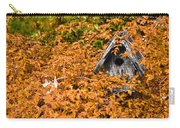 A Bird House Sits Empty In Fall Carry-all Pouch