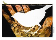 A Bird In The Hand Is Worth Two In The Bush  Carry-all Pouch by Elizabeth McTaggart