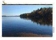 A Blue Autumn Afternoon - Algonquin Lake Tranquility Carry-all Pouch