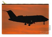 A Bombardier Challenger Cl-600 Private Carry-all Pouch
