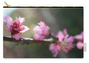 A Bough Of Blurred Peach Blossom Carry-all Pouch