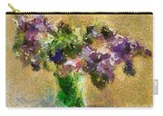 A Bouquet Of Lilac Carry-all Pouch