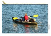 A Boy And His Canoe Carry-all Pouch