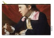 A Boy With A Flying Squirrel. Henry Pelham Carry-all Pouch