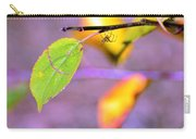 A Branch With Leaves Carry-all Pouch by Tommytechno Sweden