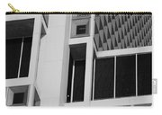 A Break In The Glass In Black And White Carry-all Pouch