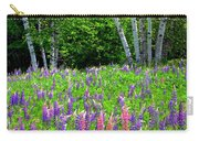 A Breathless Moment Among Lupine Carry-all Pouch