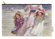 A Breezy Day At The Seaside Carry-all Pouch