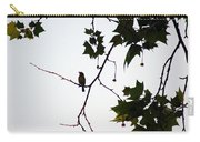 A Brown Thrasher Sings In Sycamore Tree Carry-all Pouch