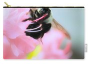 Bumble Bee And Azalea Carry-all Pouch