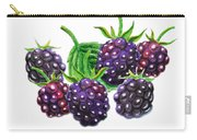 A Bunch Of Blackberries Carry-all Pouch