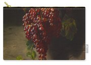 A Bunch Of Grapes Carry-all Pouch by Andrew John Henry Way