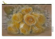 A Bunch Of Yellow Roses Carry-all Pouch by Susan Candelario
