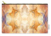 A Burst Of Light Abstract Living Artwork By Omaste Witkowski Carry-all Pouch