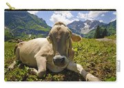 A Calf In The Mountains Carry-all Pouch