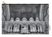 A Central View Bw Carry-all Pouch by Susan Candelario