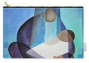 A Child Is Born Christmas Greeting  Carry-all Pouch