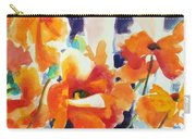 A Choir Of Poppies Carry-all Pouch