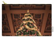 A Christmas Tree At Union Station Carry-all Pouch