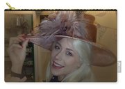 A Class Hat On A Classy Lady Carry-all Pouch