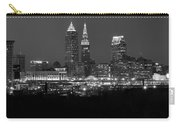 A Cleveland Black And White Night Carry-all Pouch