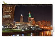 A Cleveland Night Carry-all Pouch