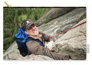 A Climber Reaches His Hand In A Crack Carry-all Pouch