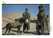 A Coalition Forces Military Working Dog Carry-all Pouch