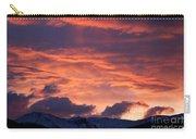 A Colorado Sunrise Carry-all Pouch